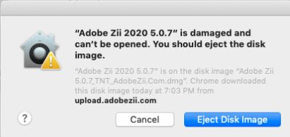 How To Fix Adobe Zii is Damaged Can't Be Opened